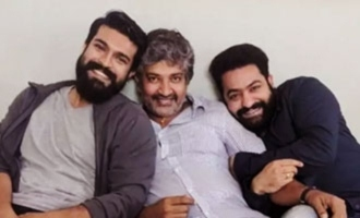 RRR movie Rajamouli reincarnation theme for Jr NTR Ram Charan