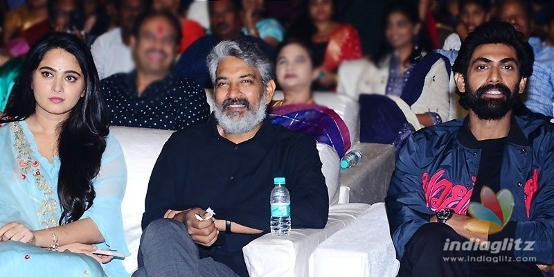 Rajamouli, Rana & others for Anushkas event