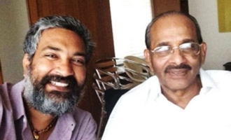 Rajamouli's father confirms RRR's release date