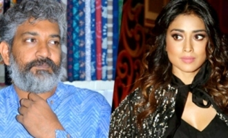 Is Rajamouli upset with Shriya for her live chat on RRR?