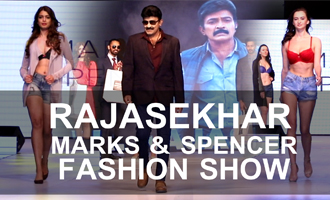 Dr Rajasekhar @ Marks & Spencer Fashion Show Hyderabad