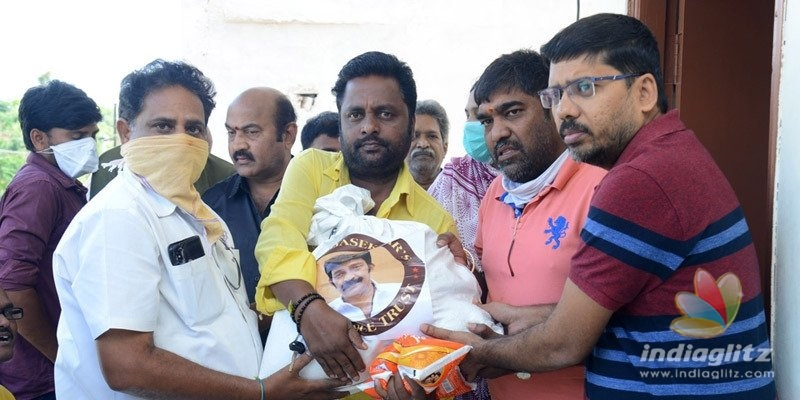 Rajasekhar Charitable Trust donates essentials to poor artists