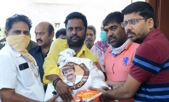 Rajasekhar Charitable Trust donates essentials to poor artists