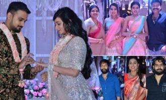 Celebs @ Rajasekhar Sister Son Engagement