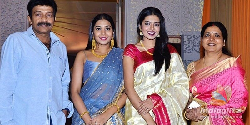 Rajasekhar, wife Jeevitha, kids Shivani, Shivatmika contract COVID-19