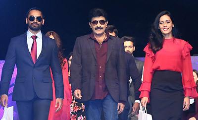 Rajasekhar Walks @ Marks and Specncer Fashion Show