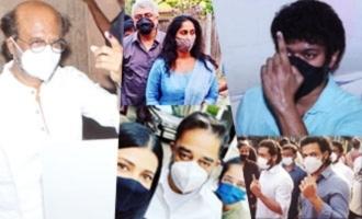 Viral! Rajinikanth, Vijay, Suriya, Ajith, Karthi & others cast their vote