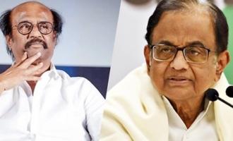 Rajinikanth should have asked me: P Chidambaram