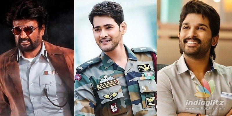 Advantage Rajini as Mahesh, Allu Arjun choose Sunday!