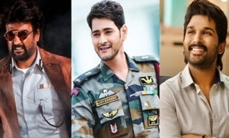 Advantage Rajini as Mahesh, Allu Arjun choose Sunday!