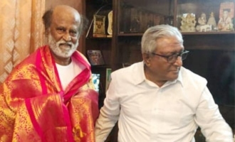 Pic Talk: Rajinikanth takes brother's blessings ahead of political entry