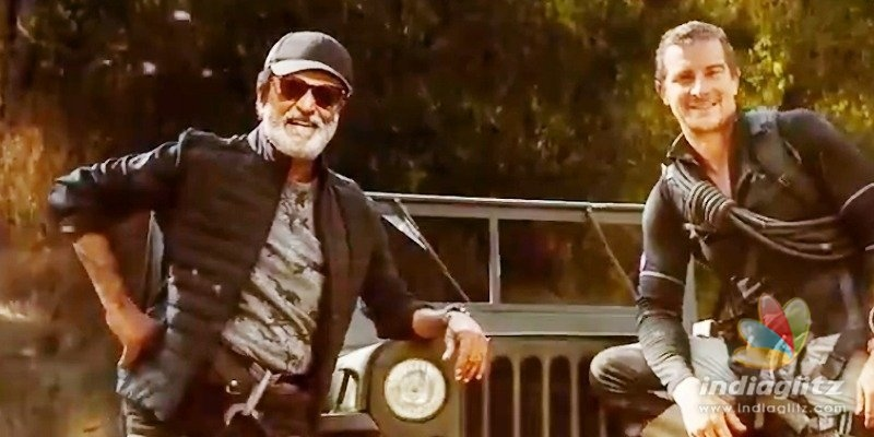 Rajinikanths Into The Wild Motion Poster out