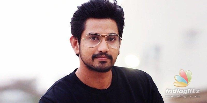 Raj Tarun escapes road accident