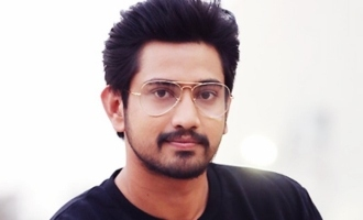 Raj Tarun escapes road accident