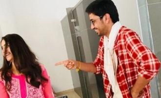Pic Talk: Raj Tarun hosts housewarming party for Avika Gor, director