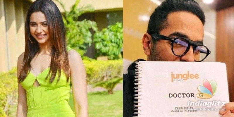 Rakul Preet Singh turns Dr Fatima for Doctor G