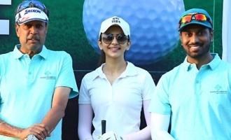 Kapil Dev, Rakul & Others @ Choice Foundation Golf Fundraiser 1st Edition Event