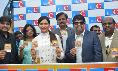 Rakul Preet @ Big C's Lucky Draw In Nellore