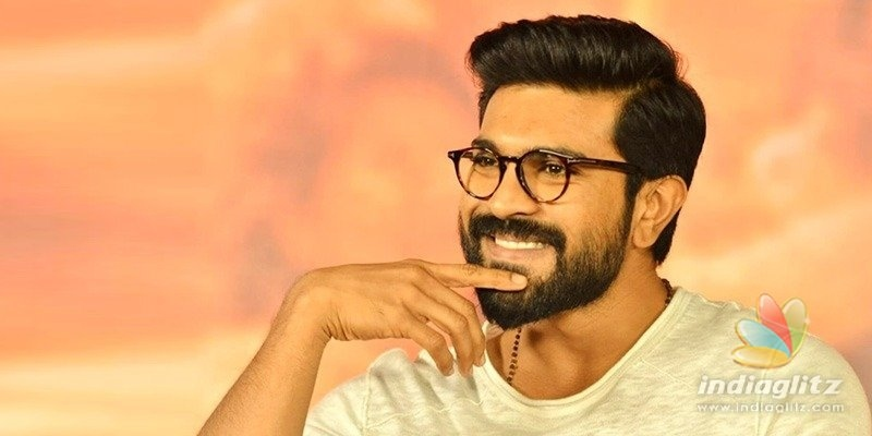Great going! Ram Charan steps in with huge donation