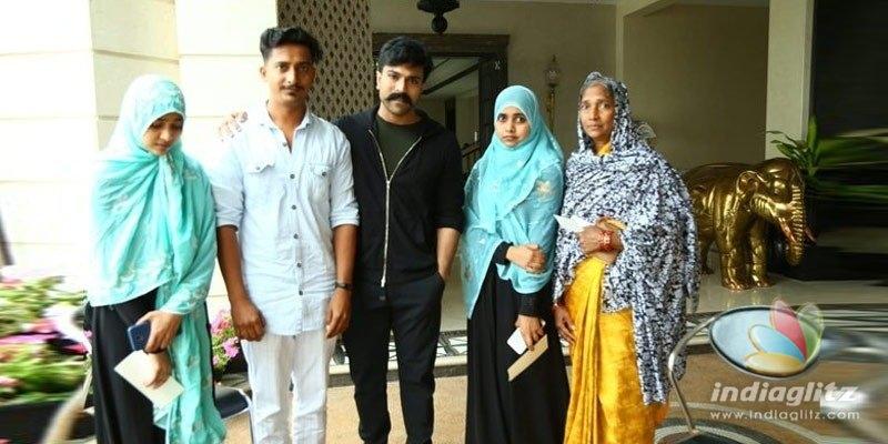 Ram Charan helps Noors family, assures more help