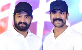 Ram Charan puts out pre-teaser for 'brother' Jr NTR