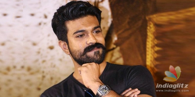 Ram Charan shares his small pleasure with fans