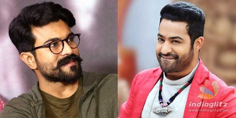 Ram Charan wishes Bheem on birthday; fans go gaga over their pic