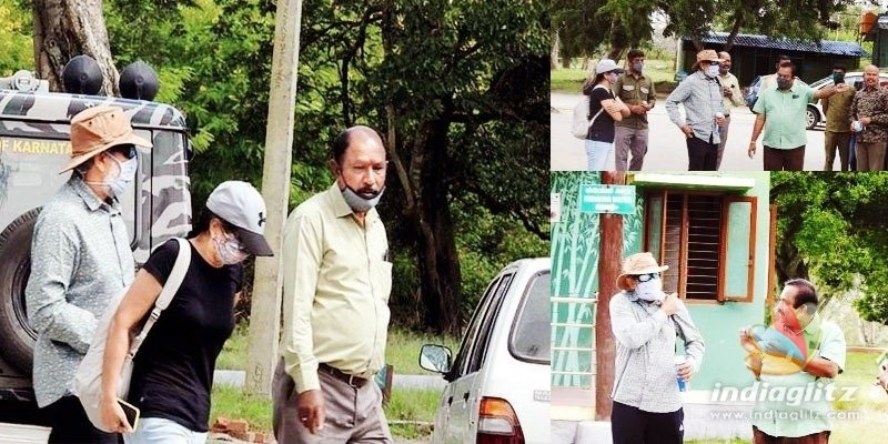 Pic Talk: SS Rajamouli, Rama spotted at famous tiger reserve