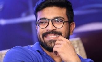 The film has a bold story, Charan praises