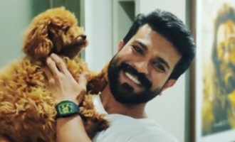 Ram Charan welcomes a new pet