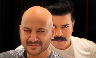 Pic Talk: Ram Charan with stylist ahead of 'RRR' shoot