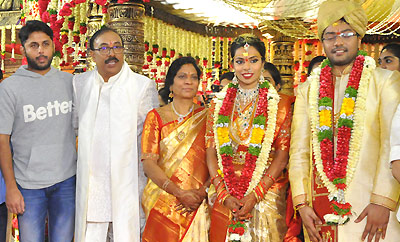 Celebs @ Producer Rammohan Rao Daughter's Wedding