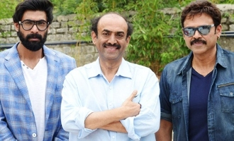 Venky, Suresh Babu, Rana chip in with Rs 1 Cr