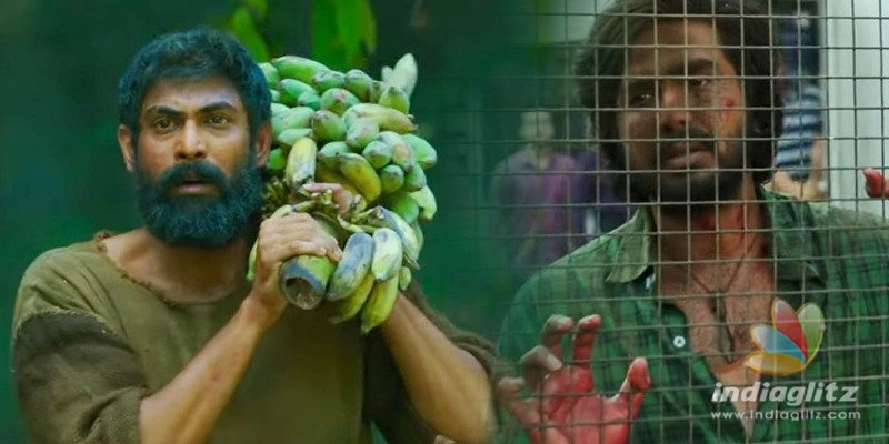 Rana Daggubati, Vishnu Vishal wail in video song of Aranya