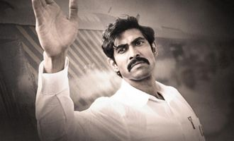 Rana as Chandrababu is confident & serious