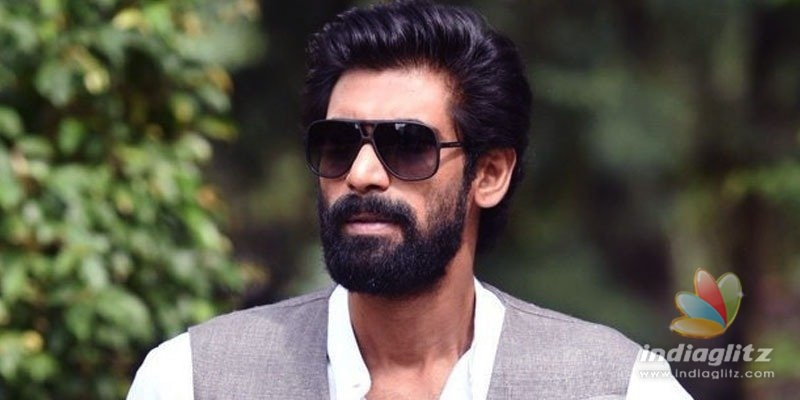 Rana Daggubati unveils Title Poster of Anasuya Bharadwajs Thank You Brother