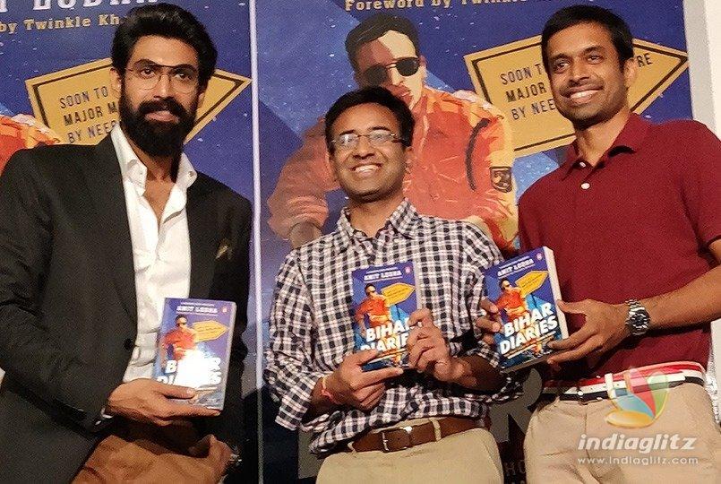 Rana unveils IPS officer Amit Lodhas Bihar Diaries