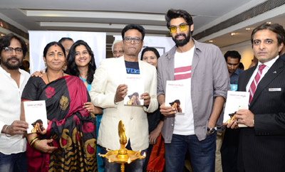 Rana Launches 'Cinema Oka Alchemy' Book