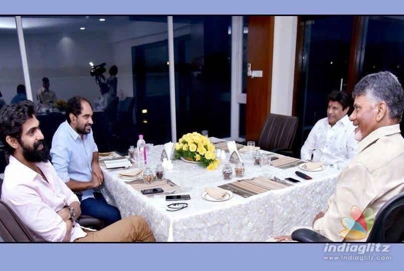 Rana Daggubati meets CM