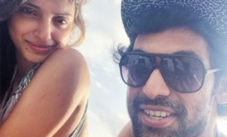 Pic Talk: Rana Daggubati has fun time at beach with wife