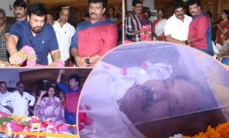 Celebs & Politicians Pay Homage To Madala Ranga Rao
