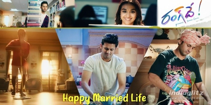 Nithiin receives cute marriage gift from Rang De makers