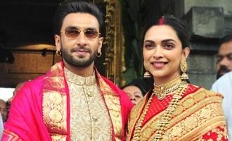 Pic Talk: Deepika, Ranveer seek Tirumala Lord's blessings
