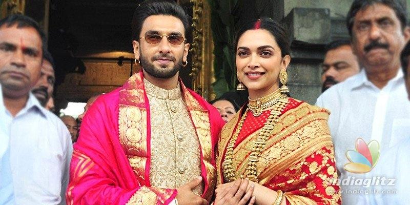 Pic Talk: Deepika, Ranveer seek Tirumala Lords blessings