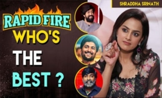 Rapid Fire with JERSEY actress Shraddha Srinath