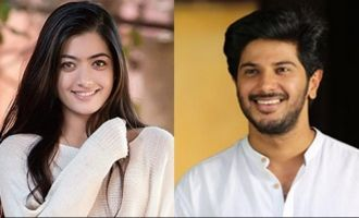 Rashmika, Dulquer & others root for 'Taxiwaala'