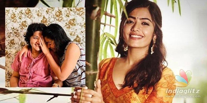 I look like my mom only because of her smile, says Rashmika Mandanna
