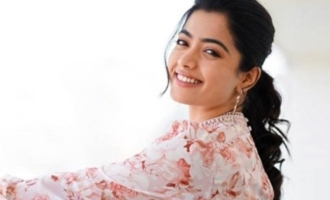 Rashmika looks super cute as kid on a her first magazine cover