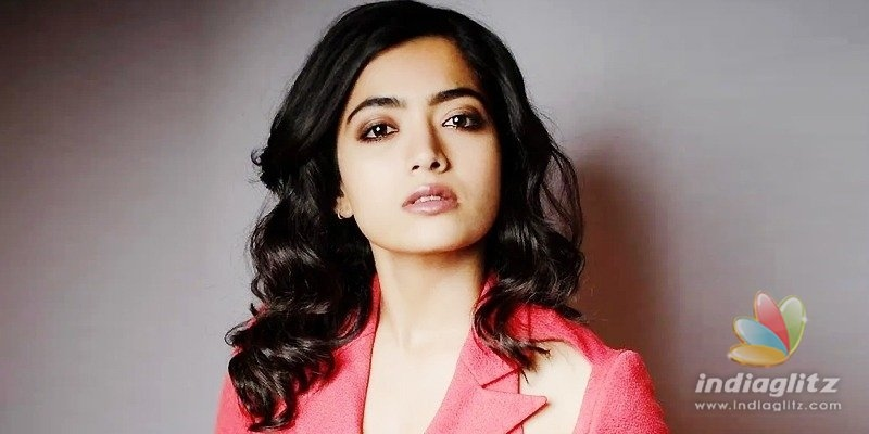 Rashmika takes on a troll who calls her prostitute