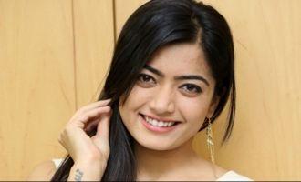 Rashmika becomes 'Pooja garu'